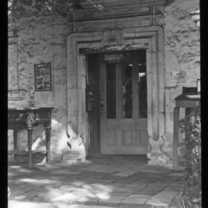 Mission San Juan Capistrano museum entrance